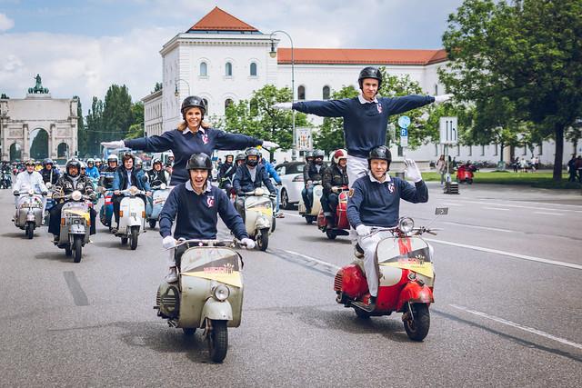 VESPA Road Trip Kroatien 2014 - SIP Team on Tour   Klassik