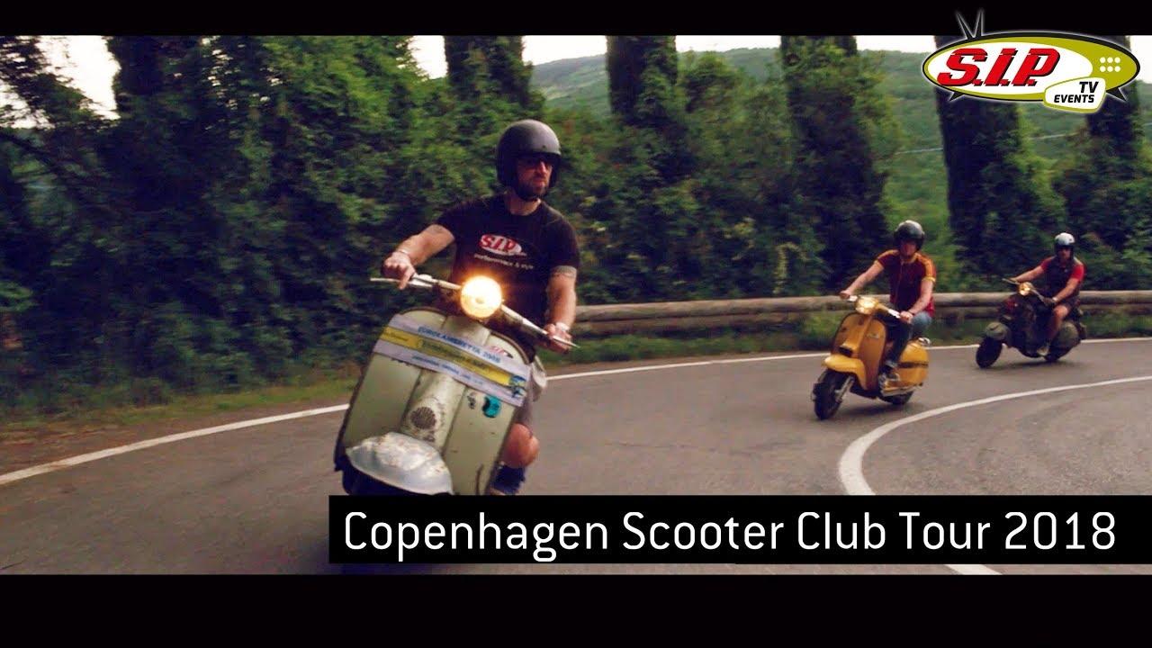 Copenhagen Scooter Club Vespa & Lambretta Tour 2018