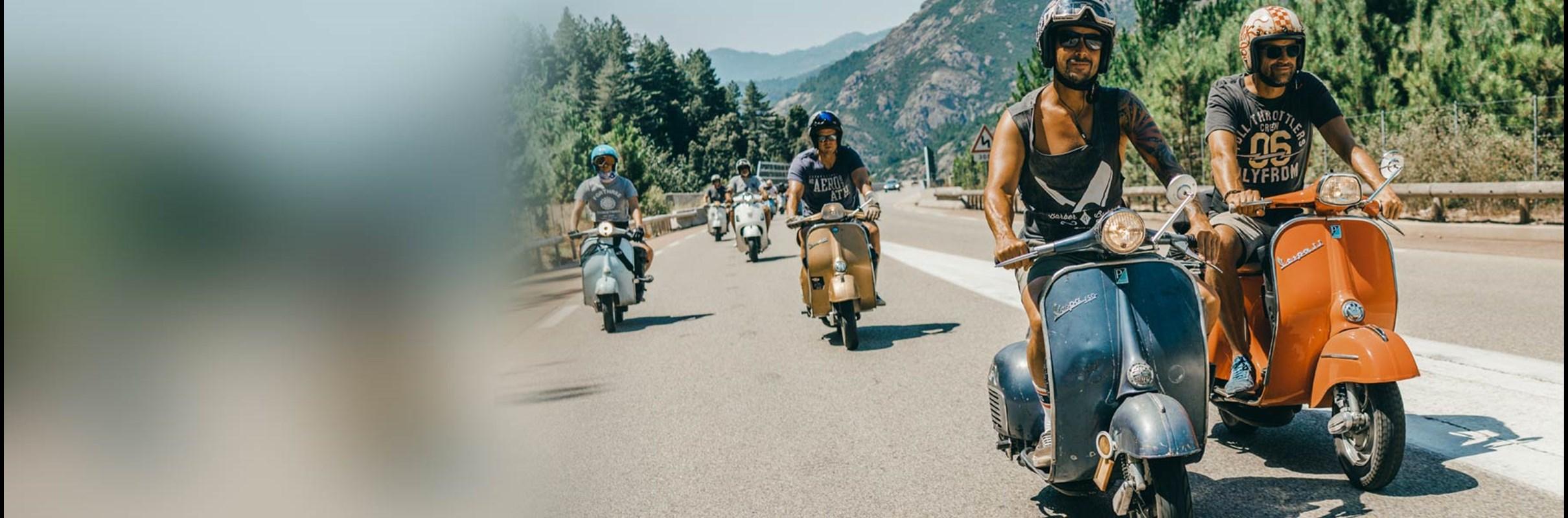 Vespa Roadtrip Corsica 2020
