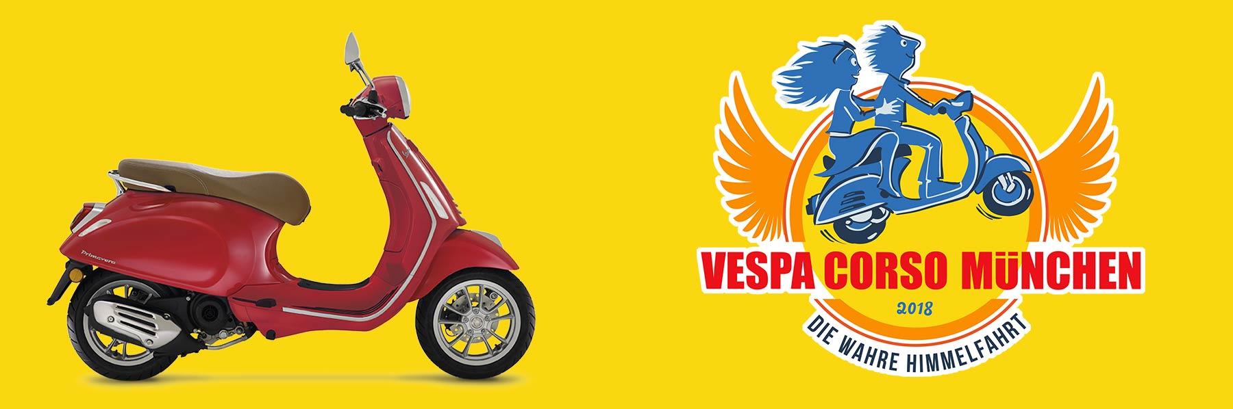 Gewinne eine neue Vespa Primavera 50 - Benefiz Tombola