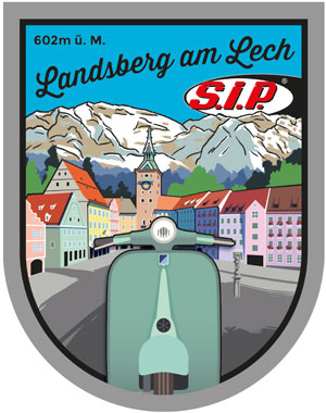 Free SIP Landsberg sticker when you visit us by Scooter!