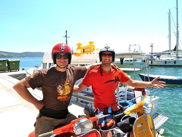 Adriamania - Vespatour to Croatia 2010