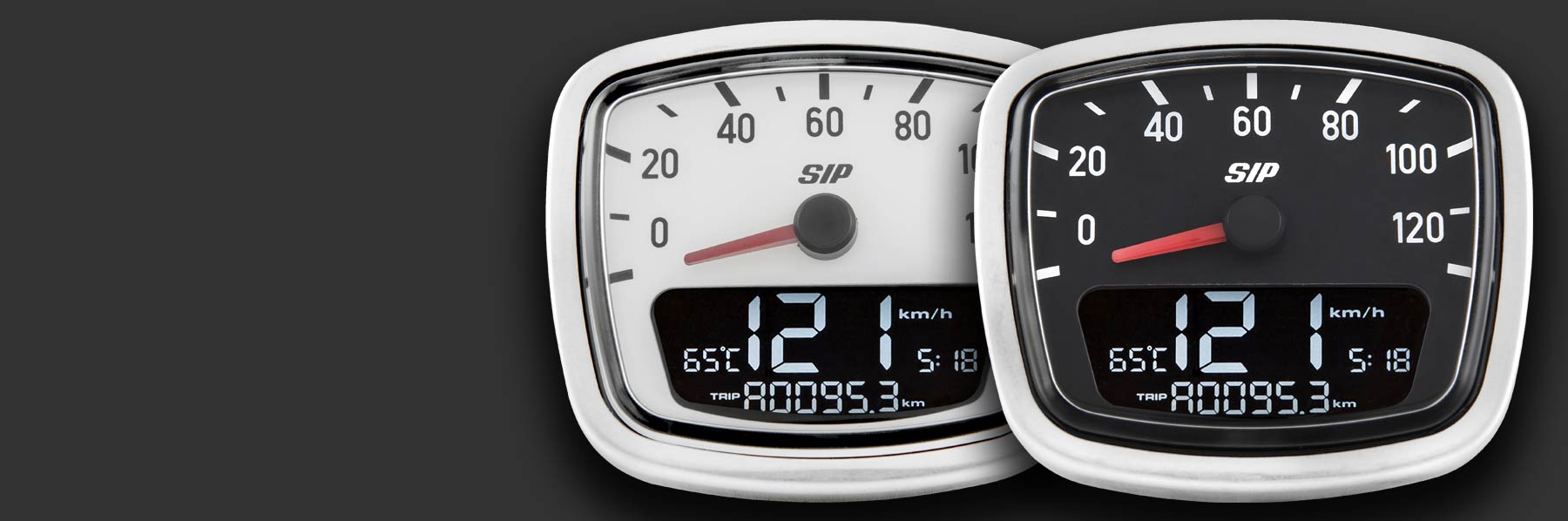 New: SIP Digital Speedo for Vespa VNA/VNB
